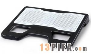 [白色铁网面]RL-502战神炫彩版冰锐高级笔记本散热垫\散热风扇