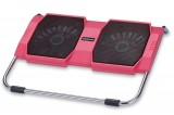 [粉红色]RL-309战盾冰锐笔记本高级散热垫\散热风扇