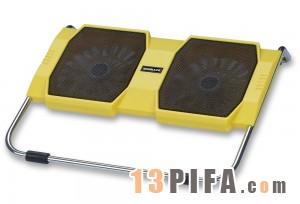 [黄色]RL-309战盾冰锐笔记本高级散热垫\散热风扇