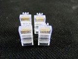 [普通]8P 特级胶料网络水晶头[一千个/包]