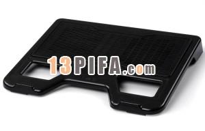[黑色铁网面]RL-502 战神普及版冰锐高级笔记本散热垫\散热风扇