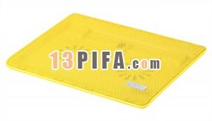 [黄色]RL-606 冰锐炫彩超薄笔记本散热器\散热垫