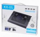 [双音箱大风扇]KX-05高品质超静音笔记本散热器/散热垫