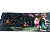 [30CMx60CMx2MM]玩家加长加厚键盘鼠标垫