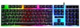 [经典黑]G21 追光豹悬浮式炫彩发光USB键盘