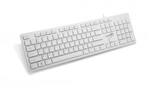 [白色]K3雷迪凯巧克力超薄电脑USB键盘