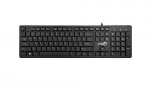 [黑色]K3雷迪凯巧克力超薄电脑USB键盘