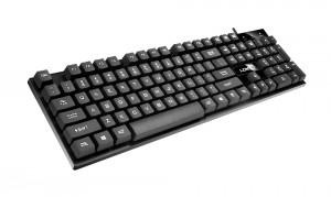 [PS2圆口]K2雷迪凯悬浮式办公游戏PS2接口键盘